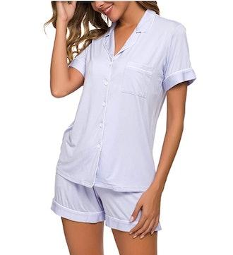 TIKTIK Short Sleeve Pajamas Set (2 Pieces)
