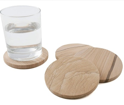 Thirstystone Sandstone Coasters (4-Pack)