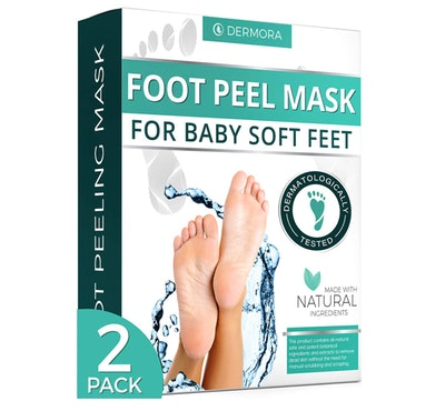 DERMORA Foot Peel Mask (2-Pack)