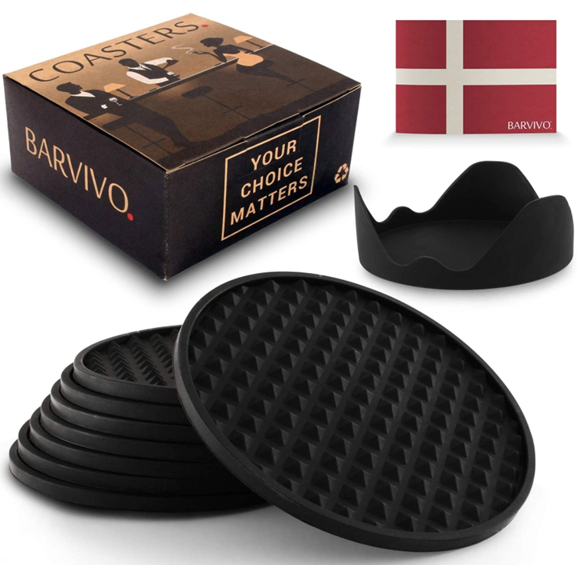 Barvivo Coasters (8-Pack)