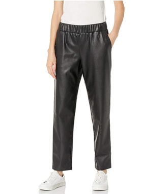 The Drop Faux Leather Jogger