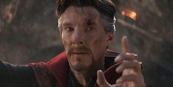 Avengers Endgame doctor strange tony stark theory