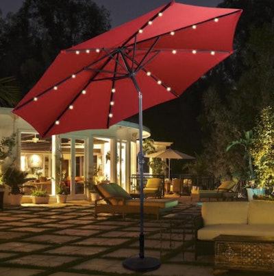 Costway Solar Umbrella