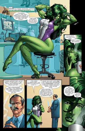 Mobius M Mobius She-Hulk