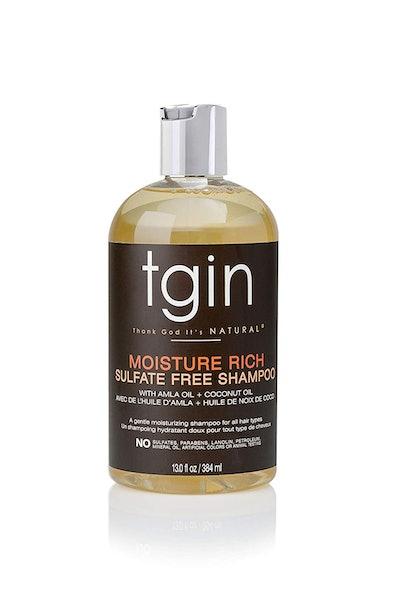 tgin Moisture Rich Sulfate-Free Shampoo For Natural Hair, 13 Fl. Oz.