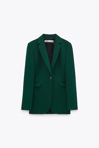 Button Tailored Blazer