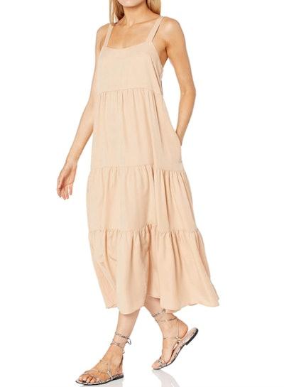 The Drop Britt Tiered Maxi Tent Dress
