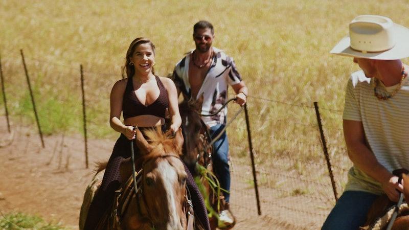 Sophia Perez & Thomas Gipson in 'Temptation Island' Season 3 via USA's press site