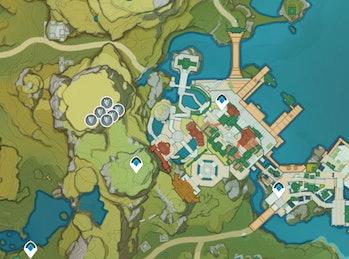 Crystal Cores miHoYo / Genshin Impact Interactive Map
