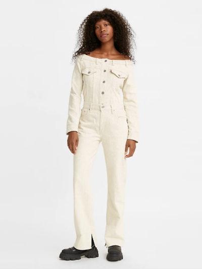 Ganni X Levi's Slit Loose Women's Jeans