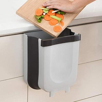 Subekyu Small Hanging Kitchen Trash Can