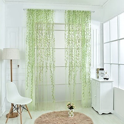 Norbi Willow Voile Tulle Room Window Curtain