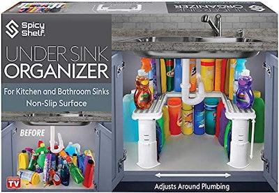 SpicyShelf Expandable Under Sink Organizer and Storage