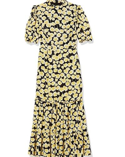 Donna Morgan Petite Georgette Ruffle Dress