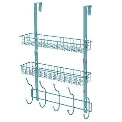 NEX Upgrade Over The Door Hook Shelf Organizer