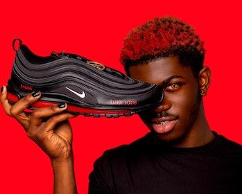 Lil Nas X MSCHF Satan Shoes Nike Air Max 97