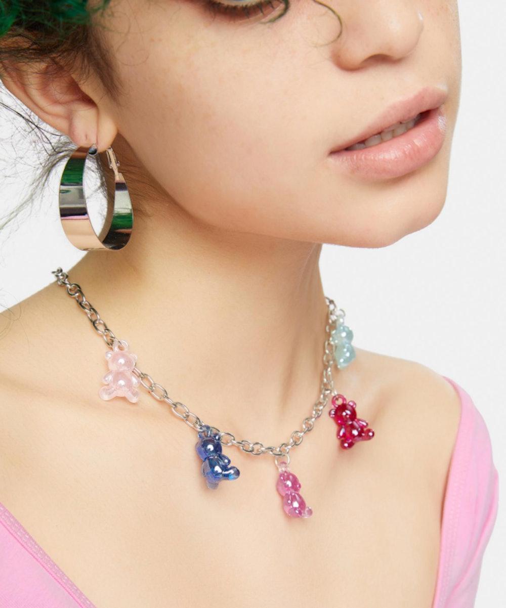 Ur My Candy Girl Gummy Bear Necklace