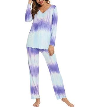 TIKTIK Long Sleeve Pajama Set (2 Pieces)