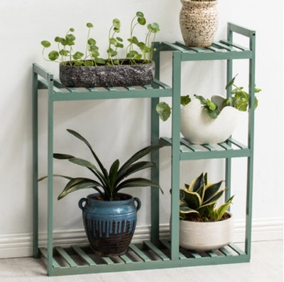 Outdoor Wooden Flower Plant Stand