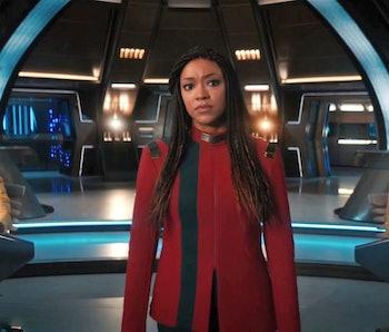 Captain Michael Burnham in Discovery Season 4