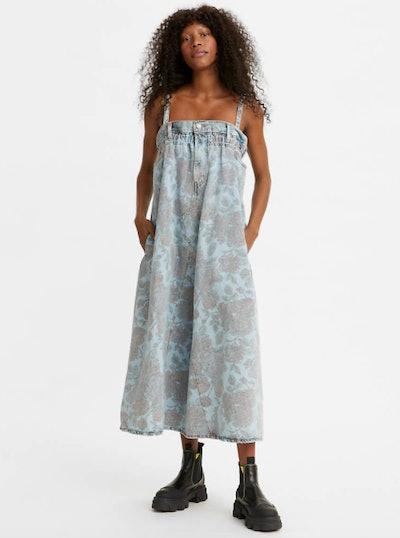 Ganni X Levi's Cinched Dress