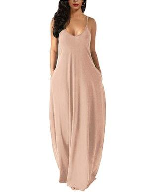 Wolddress Sleeveless Maxi Dress