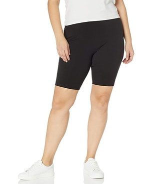 Just My Size Plus Size Biker Shorts