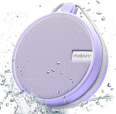INSMY Portable IPX7 Waterproof Bluetooth Speaker
