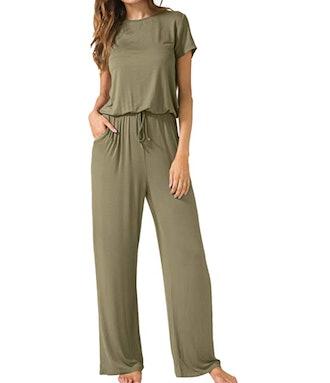LAINAB Short Sleeve Jumpsuit