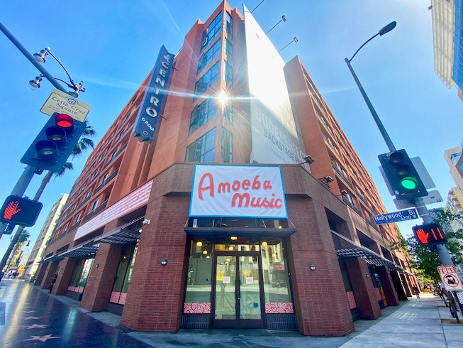 A photo of the new Amoeba Music location in Hollywood.