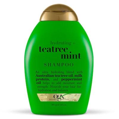 OGX Hydrating + Tea Tree Mint Shampoo, 13 Fl. Oz.