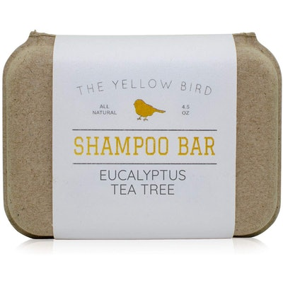 The Yellow Bird Peppermint Shampoo Bar, 4.5 Oz.
