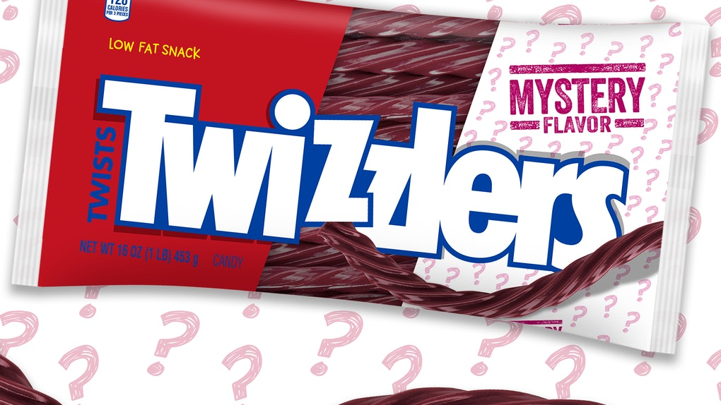 Here's how to make a guess about Twizzler's Mystery flavor.