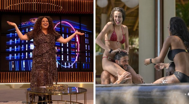 Michelle Buteau on Netflix's 'The Circle'; Chloe Veitch and Matthew Smith on Netflix's 'Too Hot To Handle'