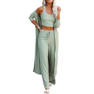 Fessceruna Spring Loungewear Set (3 Pieces)