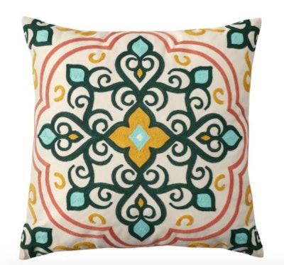 Better Homes & Gardens Medallion Outdoor Toss Pillow