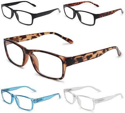 Gaoye Blue Light Blocking Glasses (5-Pack)