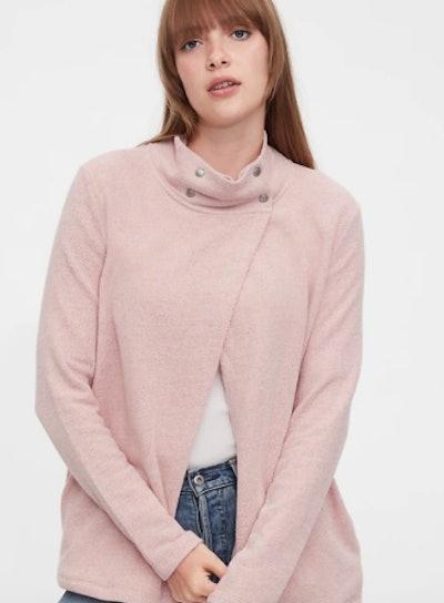 Maternity Nursing Snap Sweatshirt
