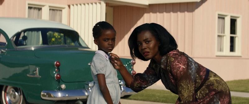 Melody Hurd (Gracie Jean Emory), Deborah Ayorinde (Livia 'Lucky' Emory) via Amazon's press site