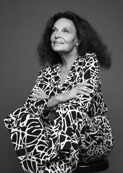 H&M Home's Diane von Furstenberg collab features the designer's iconic wrap dress prints
