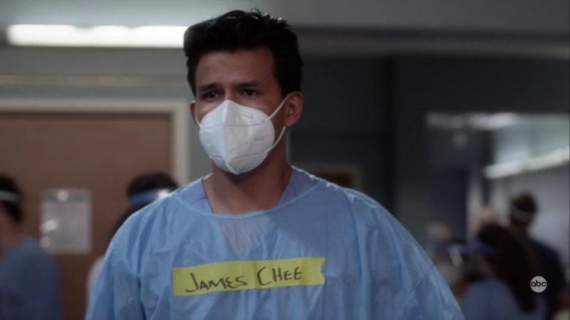 Robert I. Mesa plays James Chee on 'Grey's Anatomy.' Screenshot via ABC