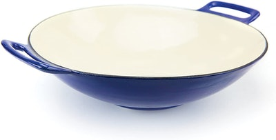 Broil King Porcelain Cast Iron Wok, 14-inch