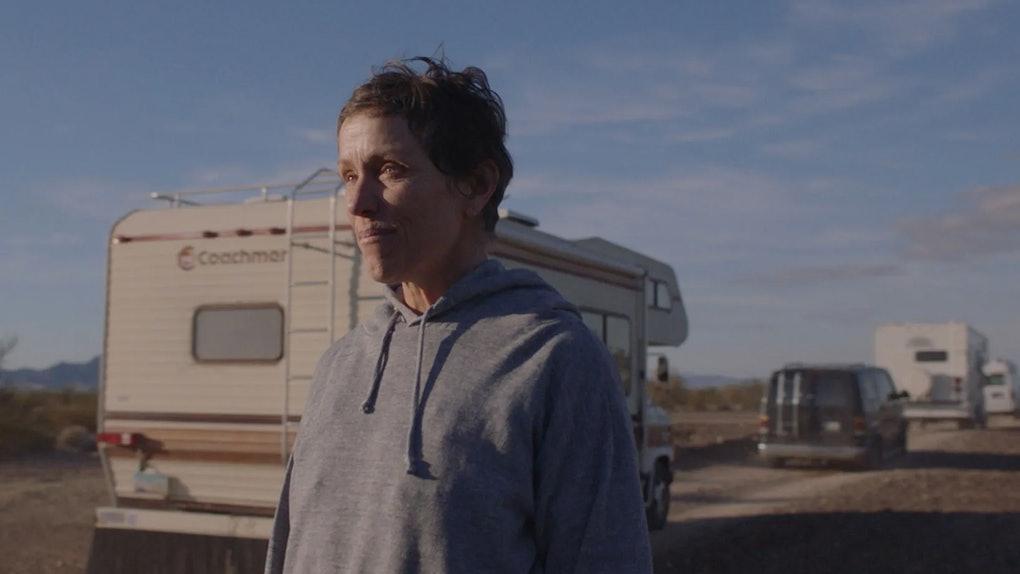 Frances McDormand stars in 'Nomadland'