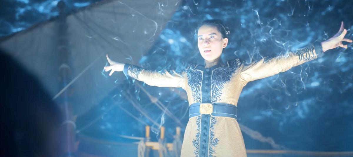 Jessie Mei Li as Alina Starkov in Shadow And Bone.