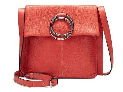 Livy Leather Crossbody Bag