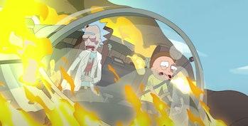 rick and morty season 5 trailer crash