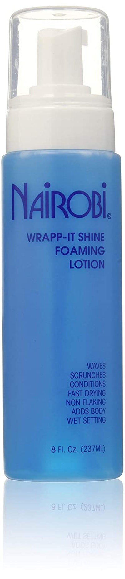 Nairobi Wrapp-It Shine Foaming Lotion