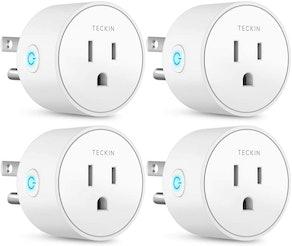 T TECKIN Smart Plugs (4-Pack)