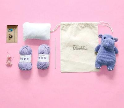 Poppi the Hippo Crochet Kit