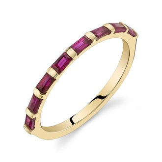 Jewelry Ruby Baguette Ring